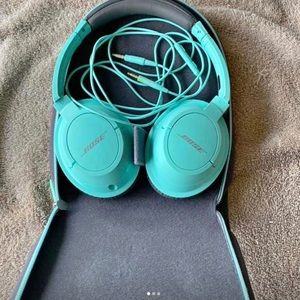 Bose Mint Headphones Great Condition